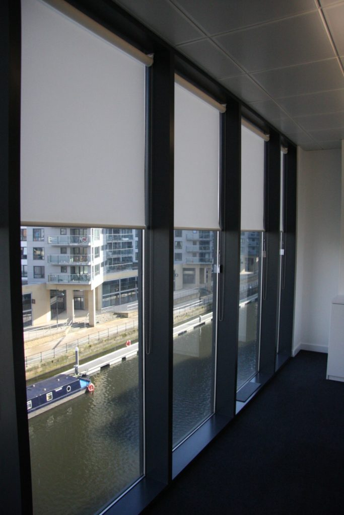 Bentleys glass office partition