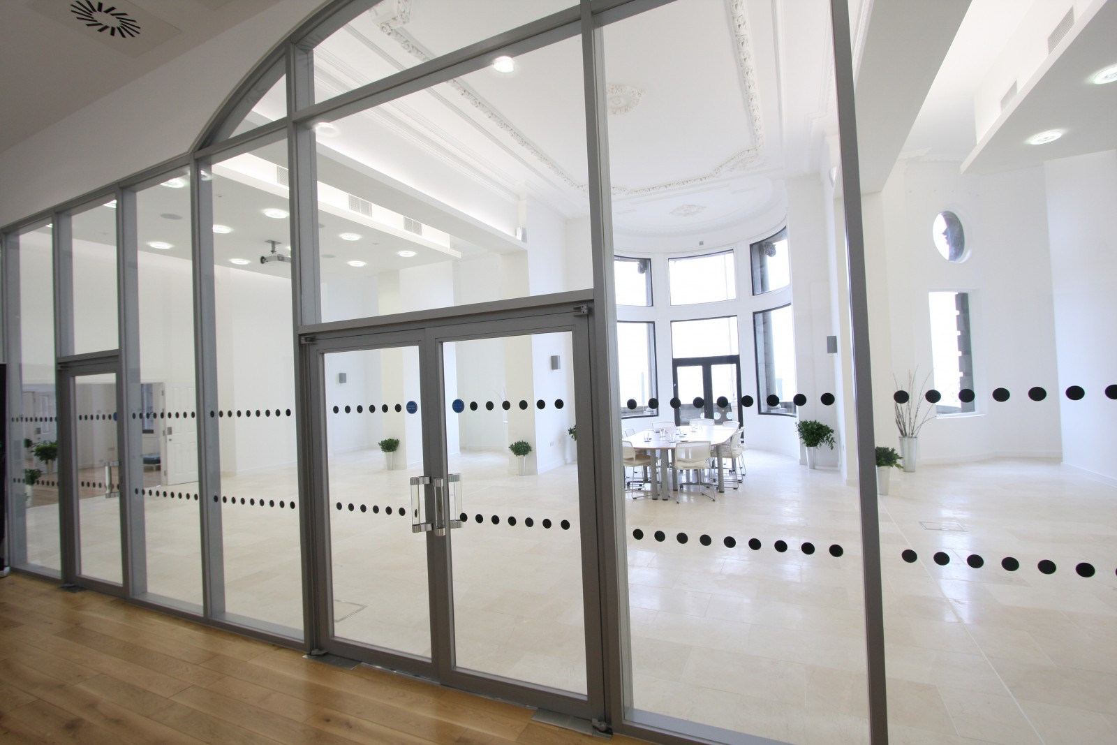 10 ways fire rated glass doors are essential in a modern for Office glass door entrance designs