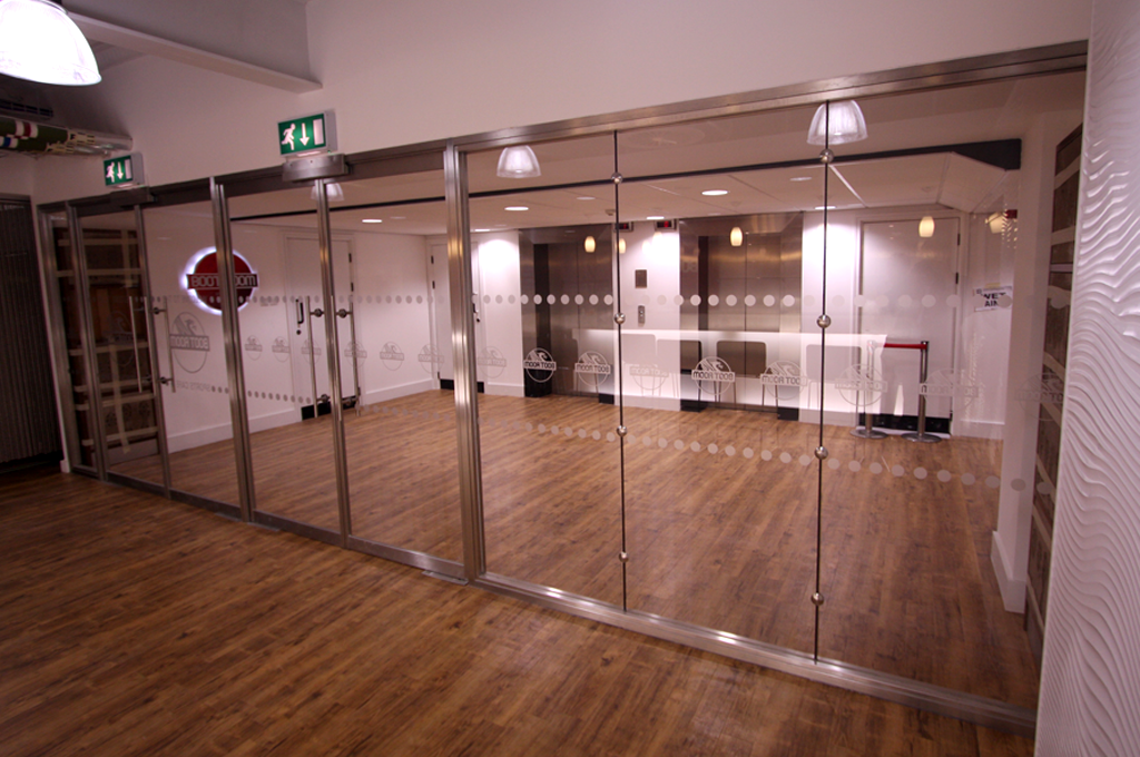 Glass Fire Doors And Partitions A Mix Of Safety With Style Office Blinds Glazing