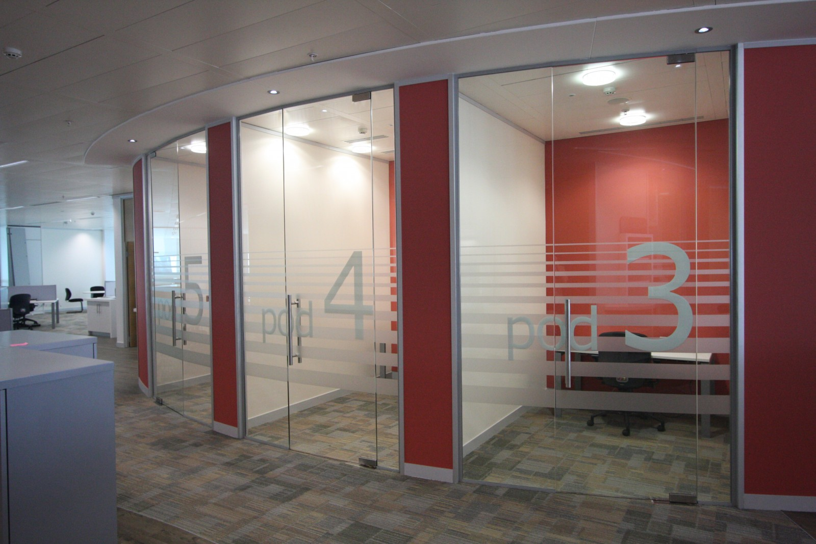 Single Glazed Office Partitions Office Blinds Amp Glazing Ltd
