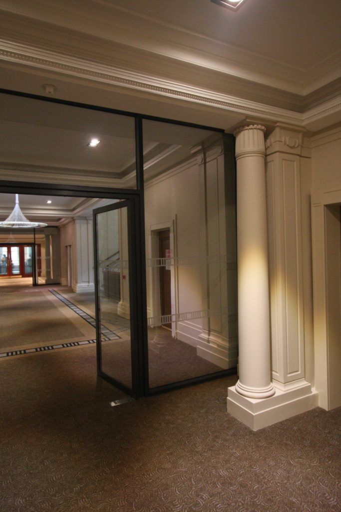 Glass Fire Screens & Fire Rated Glass Doors