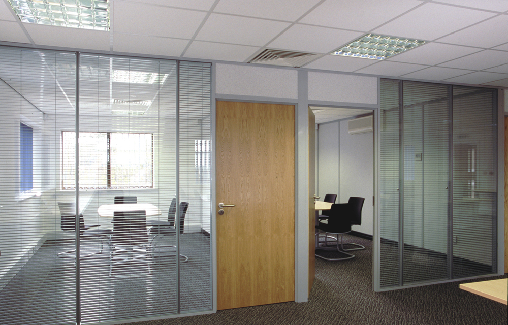 Double Glazed Office Partitions Office Blinds Amp Glazing Ltd