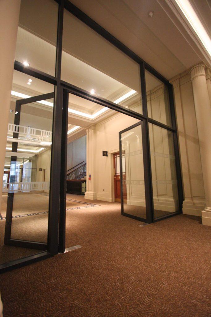 Glass Fire Screens & Fire Rated Glass Doors