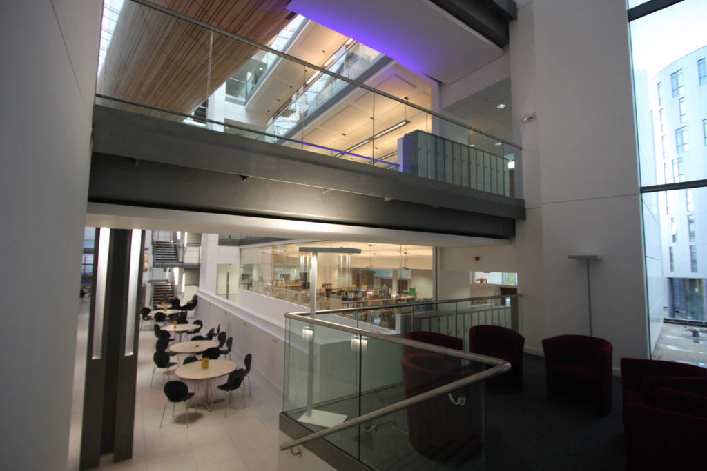 Manchester University Glass Partitioning