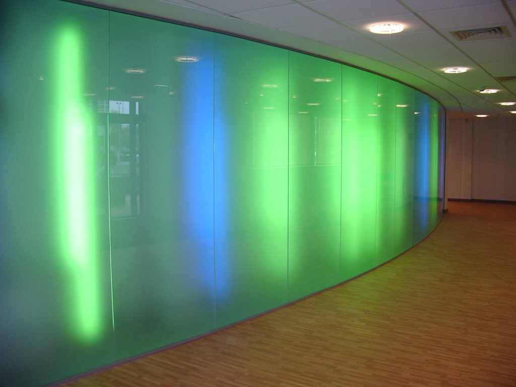 Salford University - Glass Office Partitions