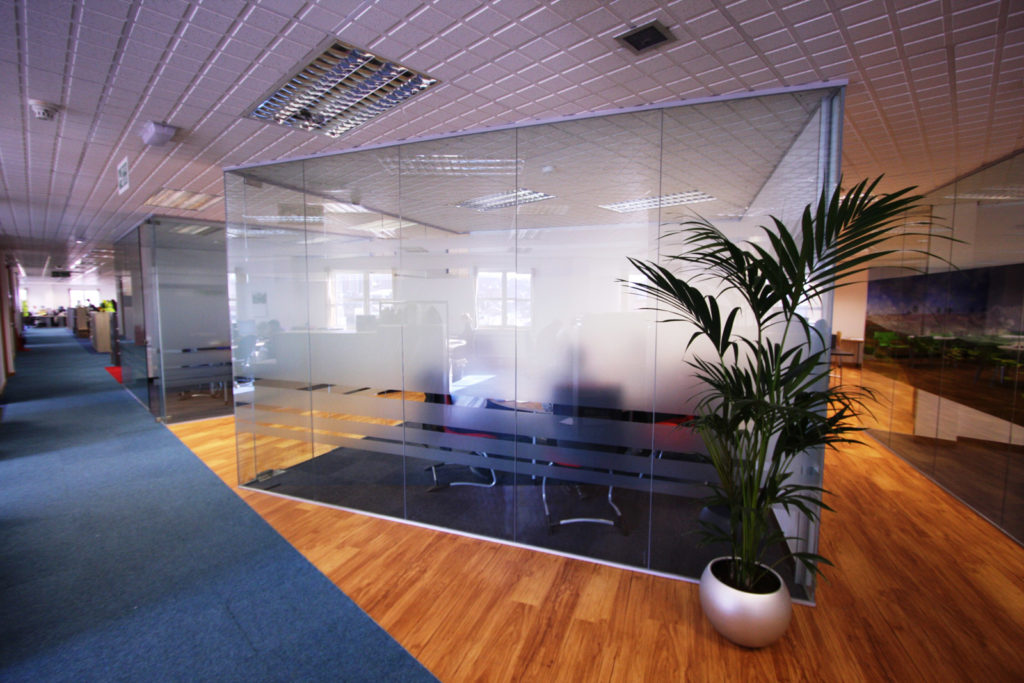 Stoke Council - Glass Office Partitions