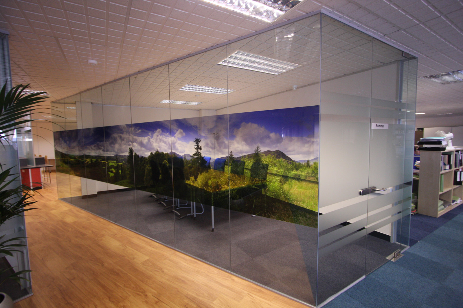Soundproof Office Partitions - Office Blinds & Glazing Ltd