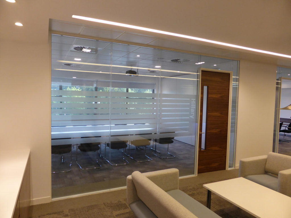 ADT Global - Glass Partitions
