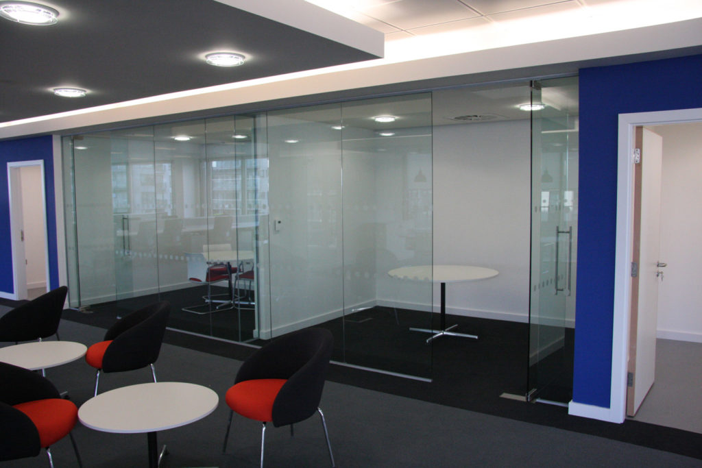 Bentleys - Glass Office Partitions