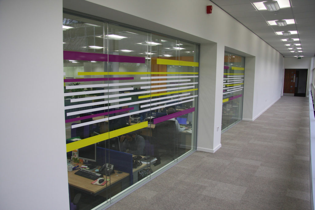 Leicester City Council Offices - Glass Partitions