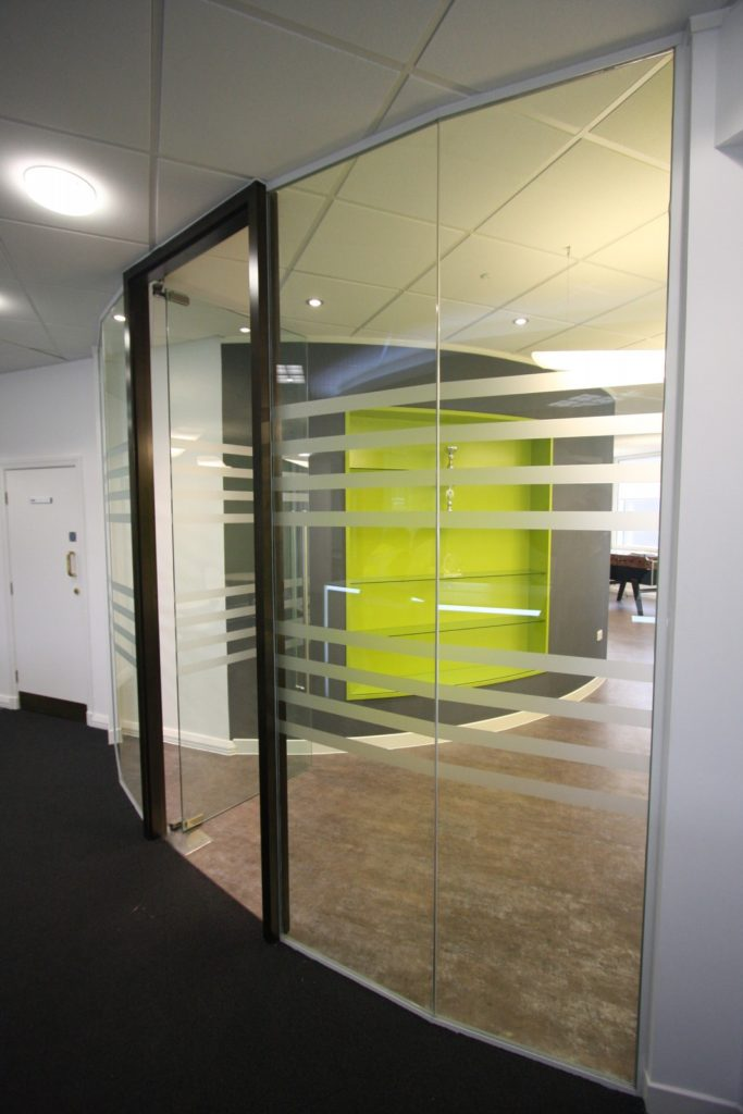 Manchester Airport Group - Glass Office Partitions