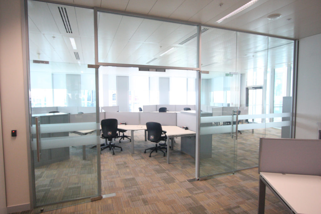 Spinningfields - Glass Office Partitions