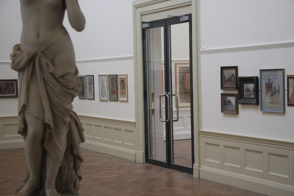 Williamson Art Gallery - Glass Fire Doors