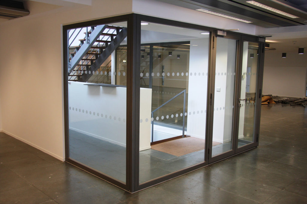 Zenith Building - Glass Fire Screens and Doors