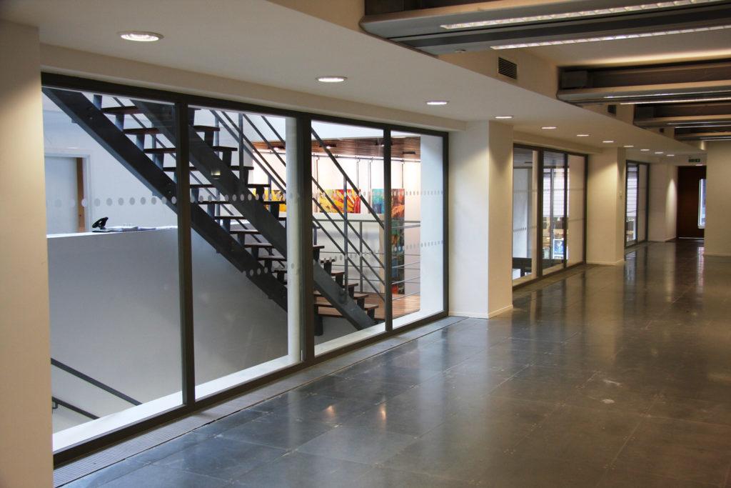 Zenith Building - Glass Fire Screens and Doors