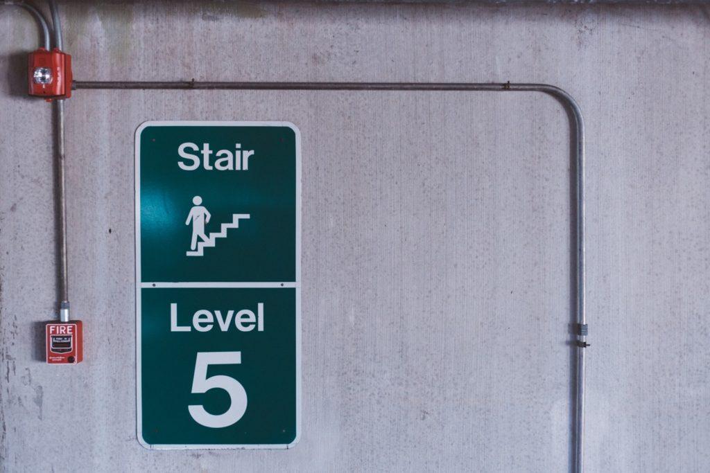 fire escape route